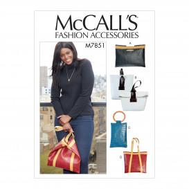 patron sacs à main McCall's M7851