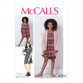 patron chandail et robes McCall's M7857