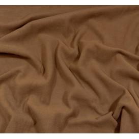 coupon 0,10mx1,50m de tissu polaire marron