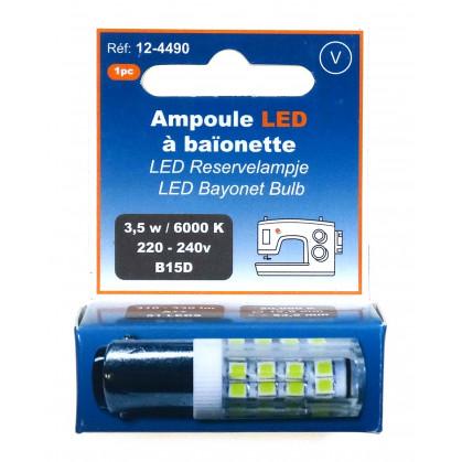 ampoule LED à baïonette 220-240V - B15D