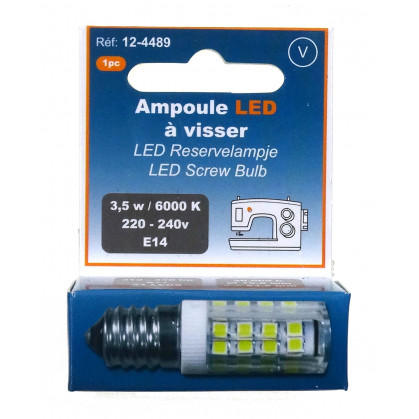 ampoule LED à visser 220-240V - E14