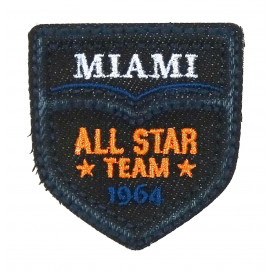 écusson miami all star team thermocollant
