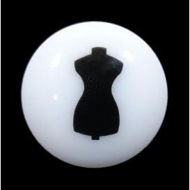 bouton fantaisie mannequin de couture 13mm