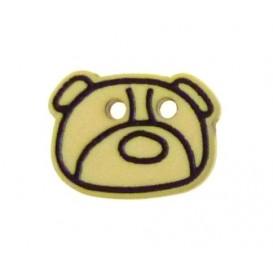 bouton enfant tête d'ours