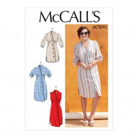 patron tunique et robes McCall's M7890