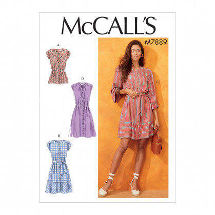 patron haut et robes McCall's M7889
