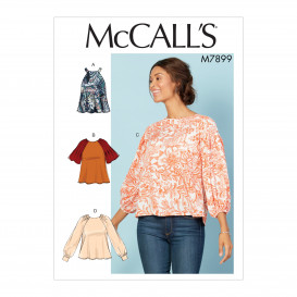 patron hauts amples McCall's M7899