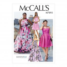 patron robes à corsage moulant McCall's M7895