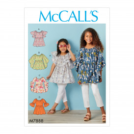 patron enfant hauts McCall's M7888