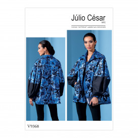 patron veste très ample Vogue V9368