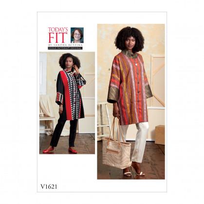 patron manteau très ample Vogue V1621