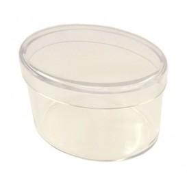 boite ovale en plastique 9 cm