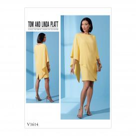 patron robe semi-ajustée Vogue V1614