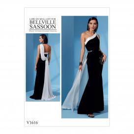 patron robe Vogue V1616