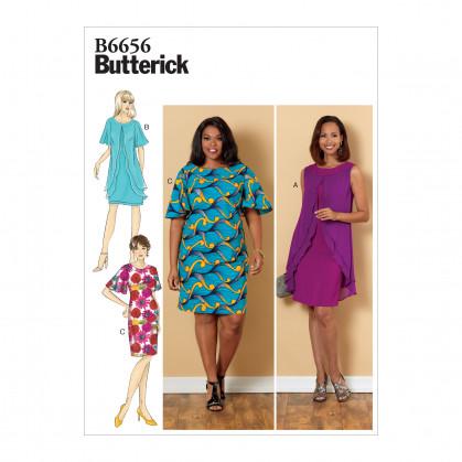 patron robe ajustée Butterick B6656