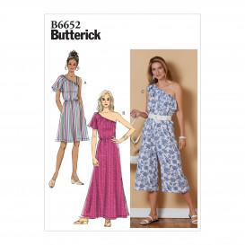 patron robe et combinaison Butterick B6652