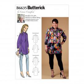 patron chemise très ample Butterick B6635