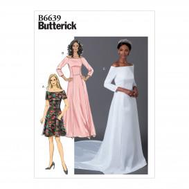 patron robe ajustée Butterick B6639