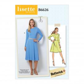 patron robe Butterick B6626