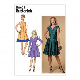 patron robe ajustée Butterick B6625