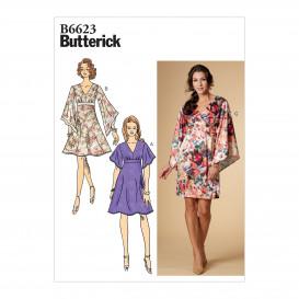 patron robe Butterick B6623