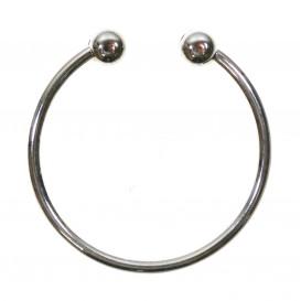 anneau maillot de bain argent 50mm