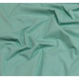 coupon 0,11mx1,05m tissu coton uni vert amande