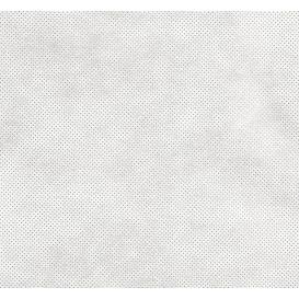 coupon 0,14mx1,60m tissu intissé/nontissé blanc