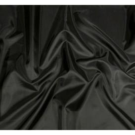 coupon 0,24mx1,50m de tissu doublure toscane noir