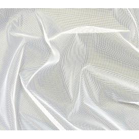 coupon 0,41mx1,50m tissu moustiquaire blanc