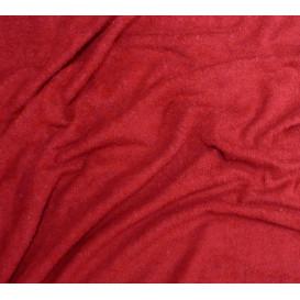 coupon 0,35mx1,60m tissu éponge bordeaux