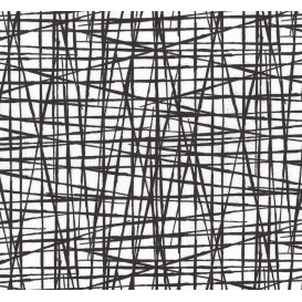 coupon 0,37mx1,40m de toile de lin 12 fils