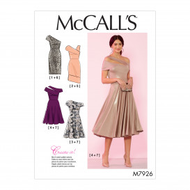 patron robes occasion spéciale McCall's M7926