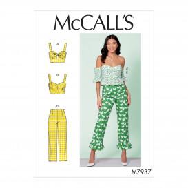 patron hauts et pantalon McCall's M7937