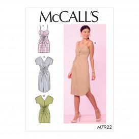 patron robes ajustées McCall's M7922