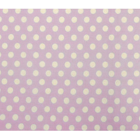coupon patchwork imprimé violet