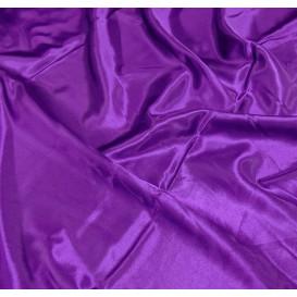 coupon 0,40mx0,56m tissu satin violet foncé
