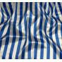 coupon patchwork imprimé fleurs bleues