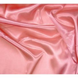Coupon 0,38mx0,62m tissu satin rose
