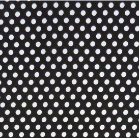 coupon patchwork imprimé bulles or