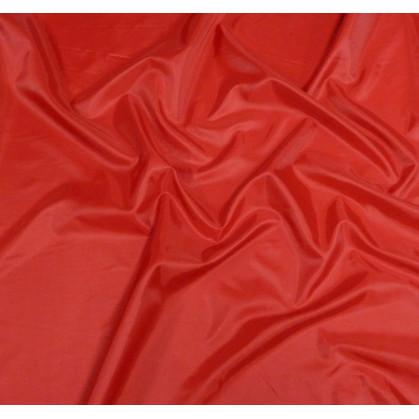 Coupon 0,10mx0,72m tissu doublure toscane rouge