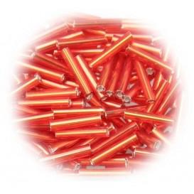 perle de verre longue tige rouge 15 gr