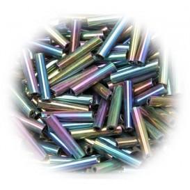 perle de verre longue tige moire 15 gr