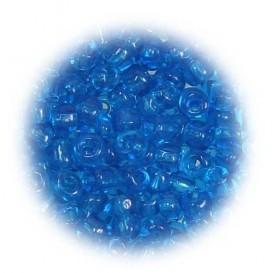 grosse perles de verre ronde bleu 7 gr