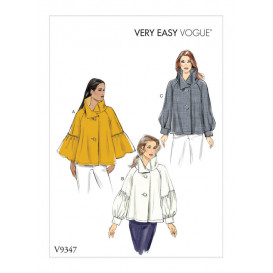 patron haut trapèze Vogue V9347