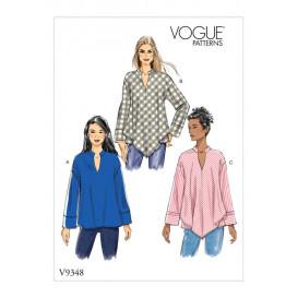 patron haut Vogue V9348