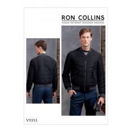 patron veste ample Vogue V9353