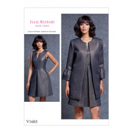 patron robe et veste Vogue V1603