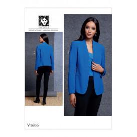 patron veste et pantalon Vogue V1606