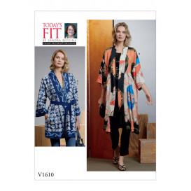 patron kimono et ceinture Vogue V1610